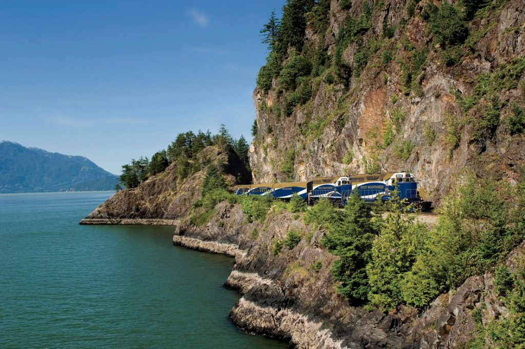 Rocky Mountaineer train to Whistler and Jasper